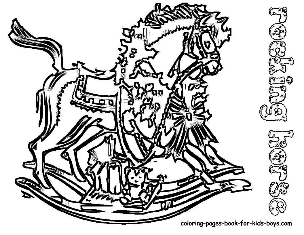 1056x816 Coloring Horse Pages Appaloosa Cross Jumping Pony Coloring Page