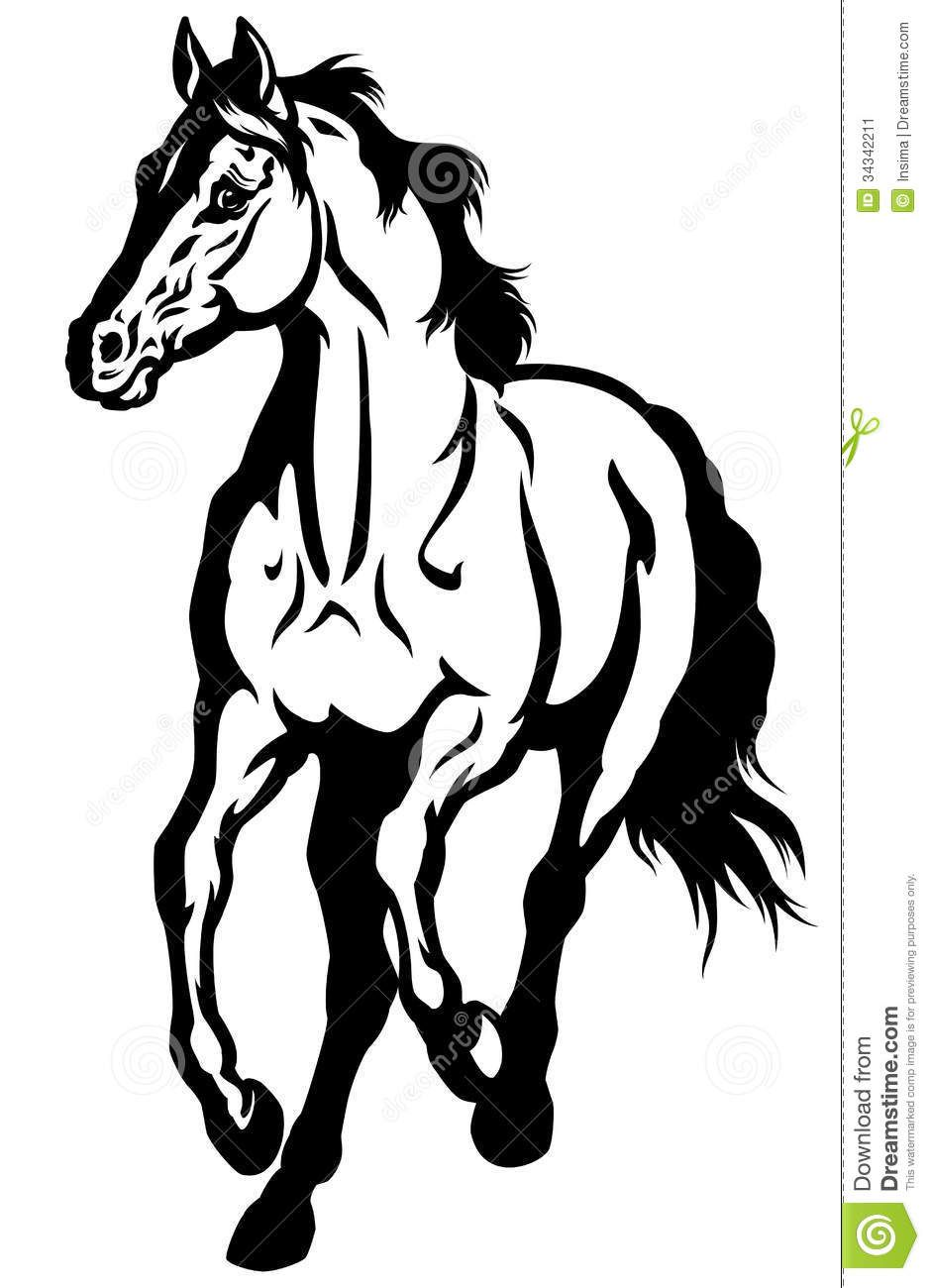 939x1300 Image Result For Black And White Horse Drawings Quilt Patterns