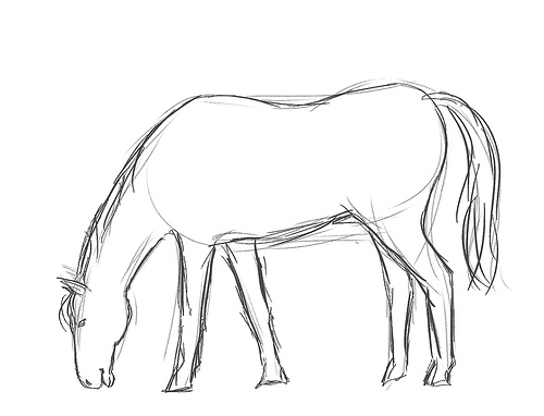 500x382 Don#39t Ask Me To Draw A Horse (Part 2)