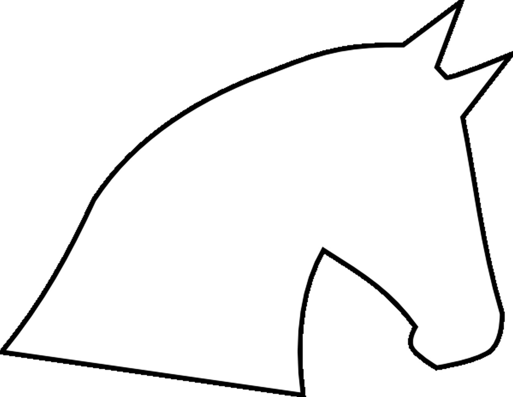 1676x1296 Horse Clipart Easy To Draw