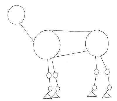 400x346 How To Draw A Horse
