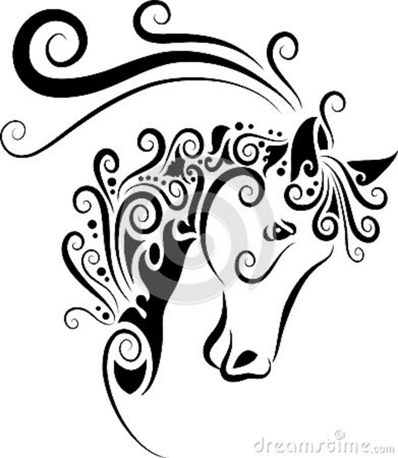 782x900 Easy Drawings Of Horse Easy Horse Head Drawinghorse Head