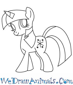 300x350 How To Draw Twilight Sparkle