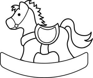 300x251 Free Rocking Horse Clipart Image 0515 1004 0904 3202 Horse Clipart