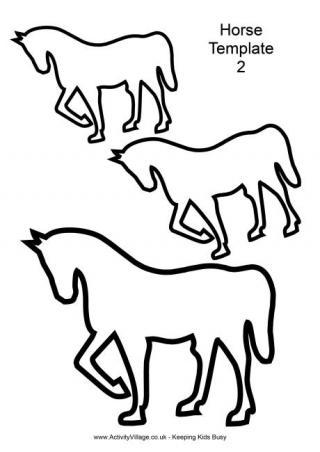 320x452 Horse Printables