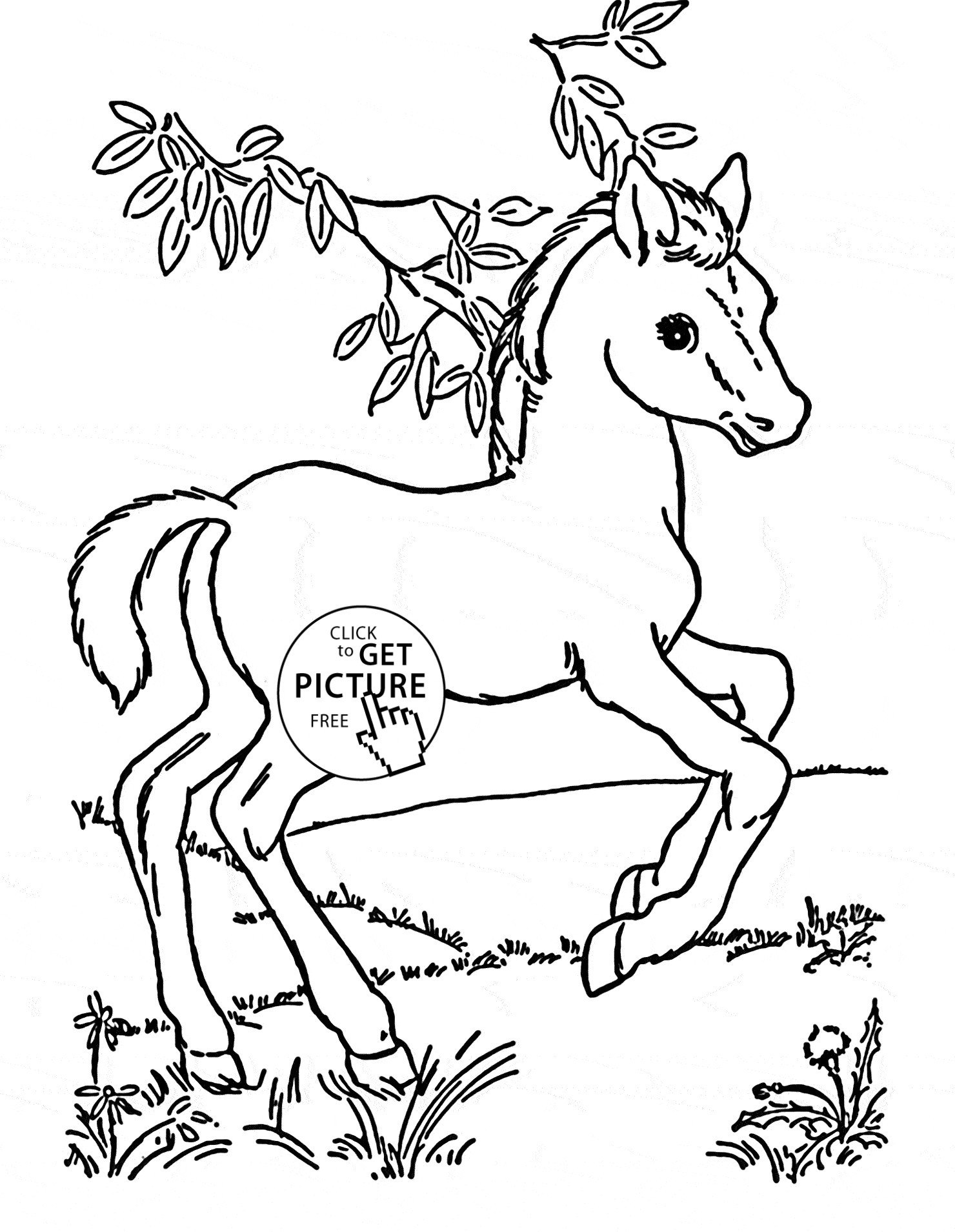 1480x1909 Coloring Pages Horses Free Best Of Horse Animals Coloring Pages
