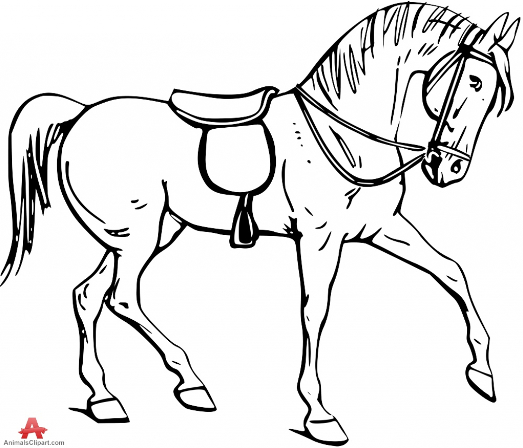 1024x877 Horse Picture Drawing How To Draw A Horse How To Draw Horses Horse