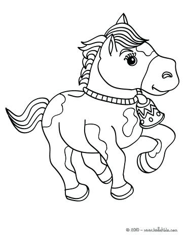 363x470 Beautiful Horse Coloring Pages For Kids Crayola Photo