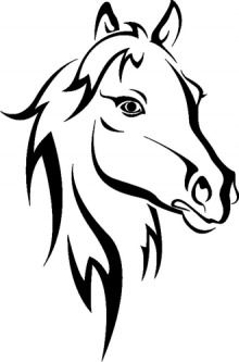 220x333 Horse Coloring Pages For Young Equestrian Enthusiasts Properties