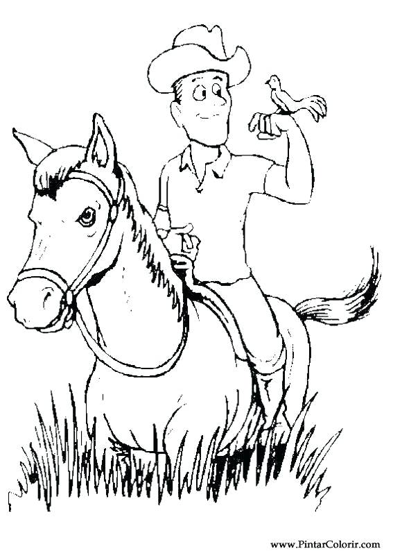 567x794 Paint Horse Coloring Pages Paint Colour Horses Drawing American