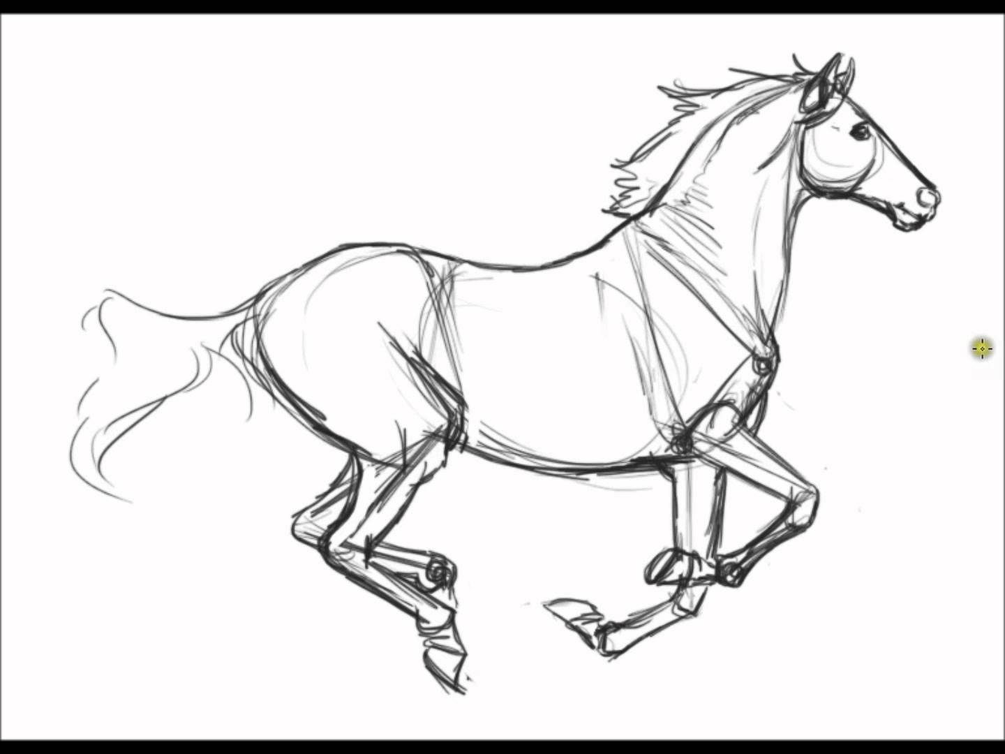 Horse Drawing Realistic at GetDrawings.com | Free for personal use ...