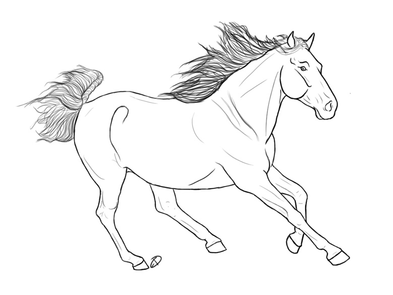 780x585 Running Horse By Equidedesigns