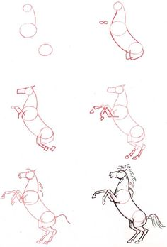 236x348 How To Draw A Mustang Horse Group