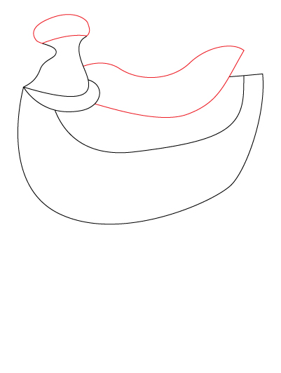 401x532 How To Draw A Horse Saddle 7 Steps (With Pictures)