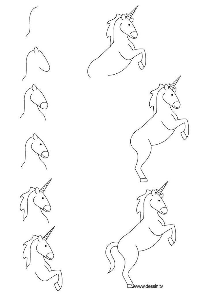 725x1024 Step By Step Simple Drawings