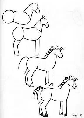 286x400 How To Horse I Can Draw ) Draw, Doodles