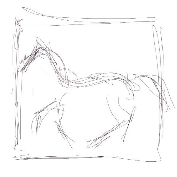 600x600 Draw A Horse