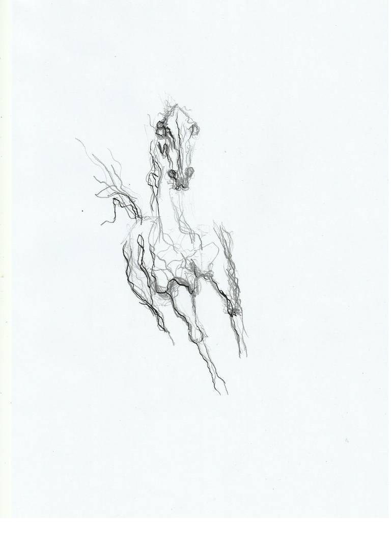 770x1059 Saatchi Art Horse 11 Drawing By Lasha Tab