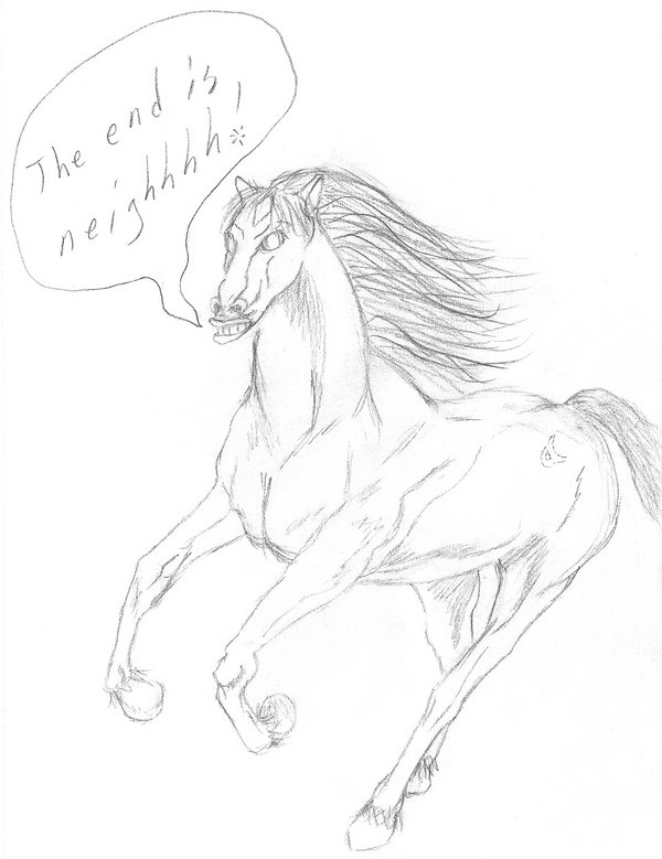 600x779 The Neigh Horse By Arynchris