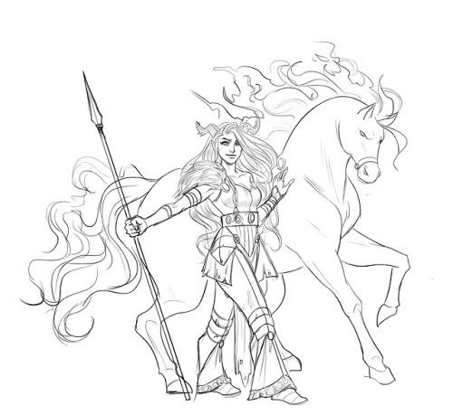 500x459 Horse Draws Tumblr