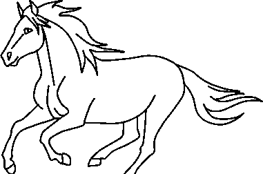 381x252 Galloping Horse' Baselineart By Cookieofthecimarron