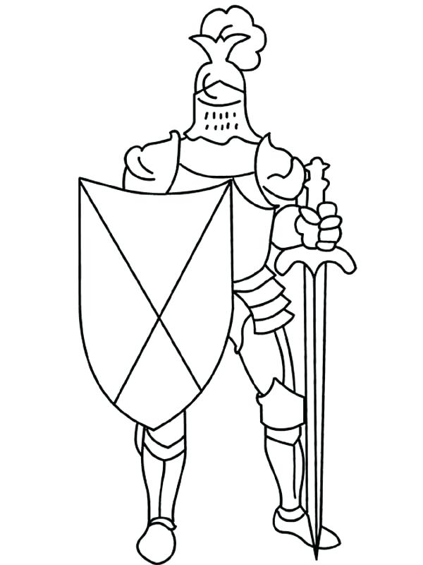 600x800 Simple Horse Coloring Pages Easy And Simple Knight Coloring Pages