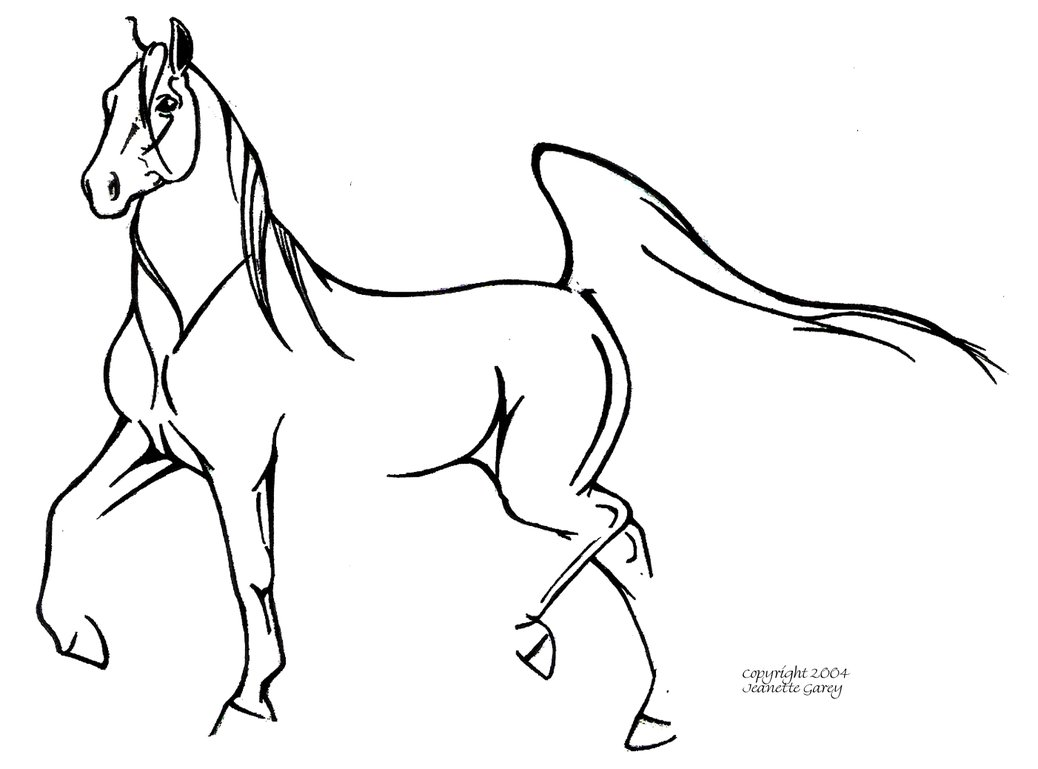 Horse Head Drawing Easy at GetDrawings.com | Free for personal use ...
