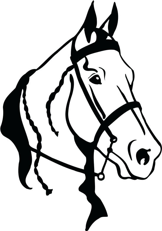 549x784 Clipart Horse Horse Head Clip Art Horse Head Outline Farmyard