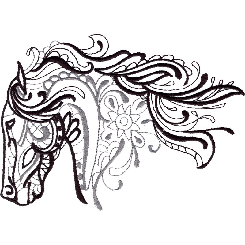 Horse Head Drawing Pictures At Getdrawings Com Free For Personal