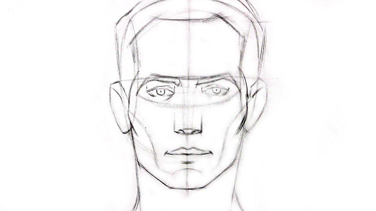 Horse Head Drawing Tutorial