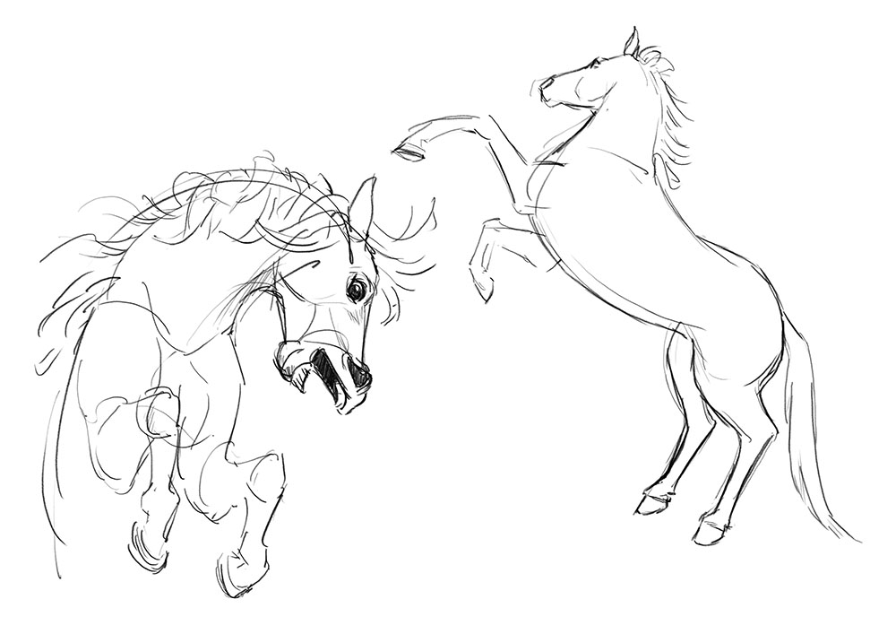 1000x707 Horse Aj Aiken