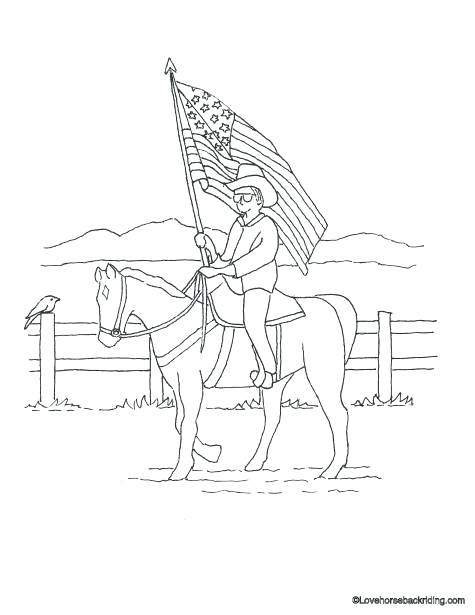 475x615 Pictures Of Horses To Print And Color Genesisar.co