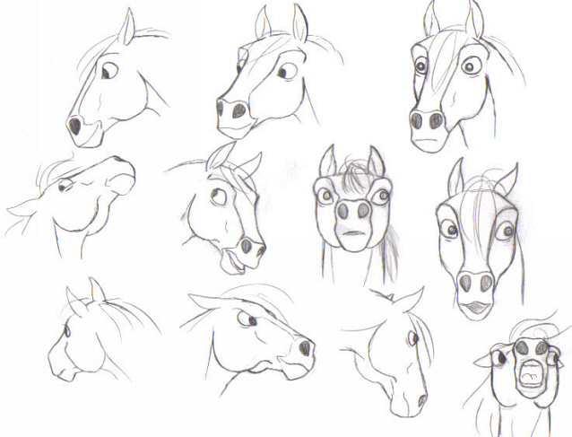 638x487 Really Old Ugly Horse Faces By Pookyhorse