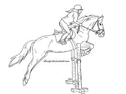 259x195 Drawing Of Horse Jumping