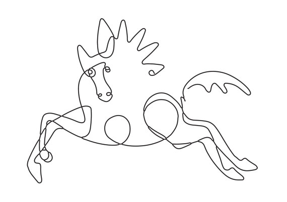 570x402 Picasso Line Drawing Picasso Poster Picasso Sketch