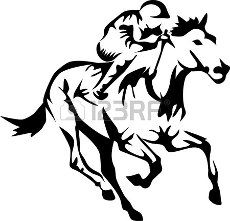 Horse Line Drawing Clip Art