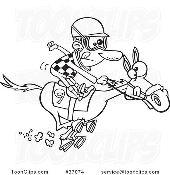 581x600 Horse Racing Cartoon Clip Art Horse Racing Cartoons Copic