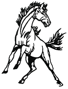 230x300 Mustang Horse Clipart Images