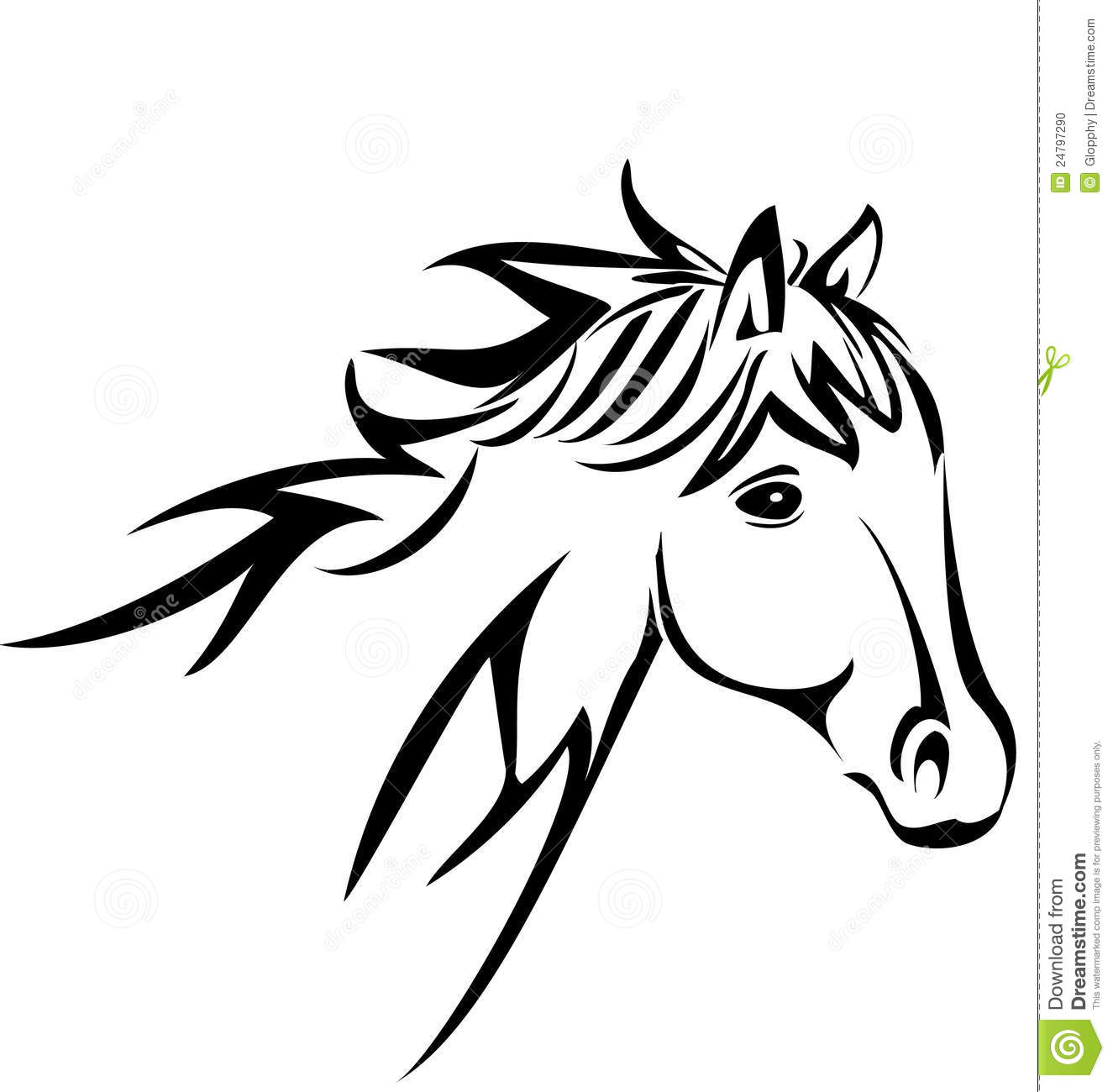 1325x1300 Arabian Horse Clip Art Horse Head Silhouette Stock Photo Image