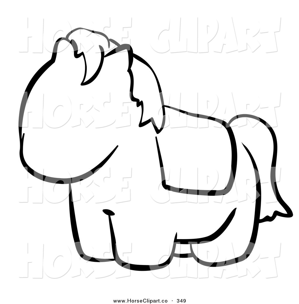 1024x1044 Drawn Horse Cute