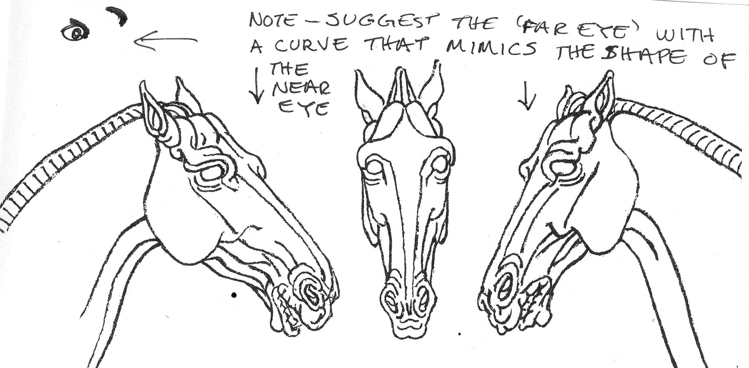 2397x1178 My Developing Horse The Head Followmybrushmarks