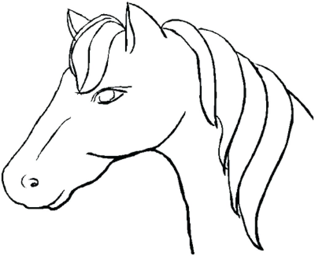 1024x832 Coloring Coloring Picture Of A Horse