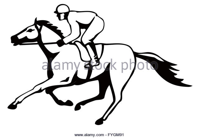 640x445 Horse And Jockey Cut Out Stock Images Amp Pictures