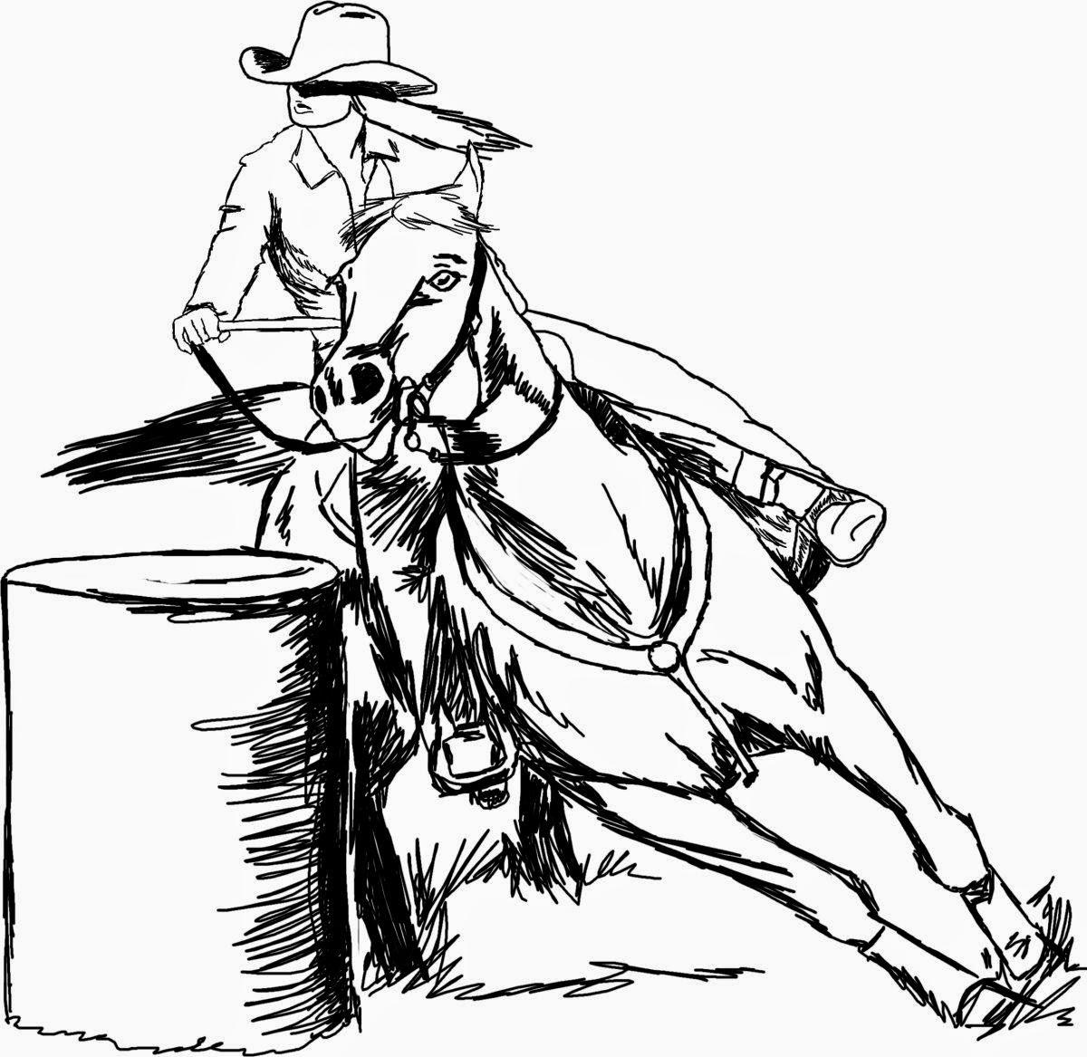 1200x1167 Foovay's 365 Horses February 2015