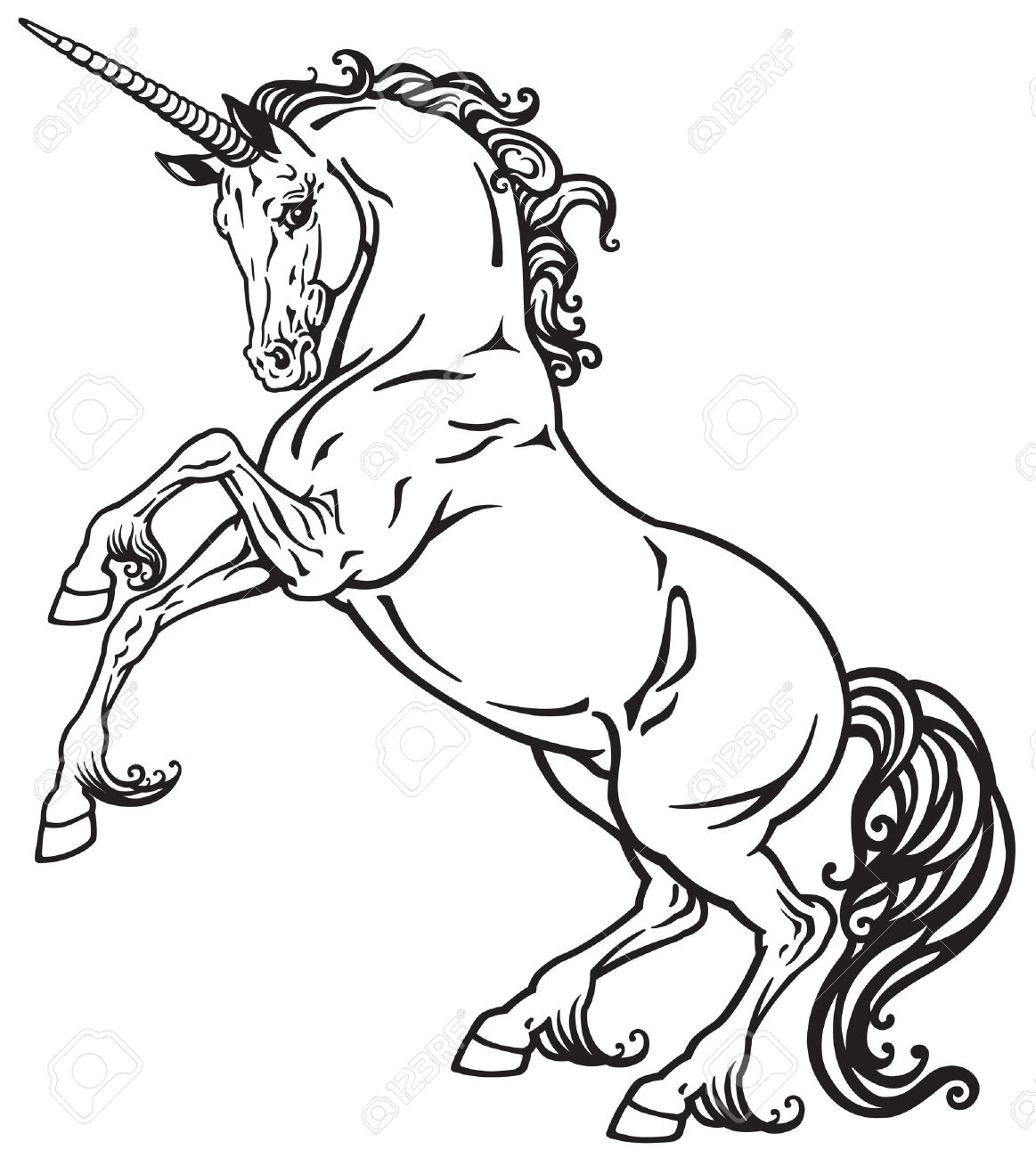 1163x1300 Horse Rearing Stock Photos. Royalty Free Business Images