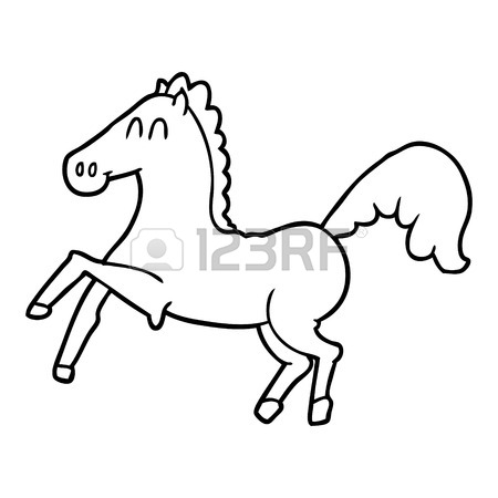 450x450 364 Prancing Horse Stock Vector Illustration And Royalty Free
