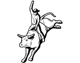 340x270 Horse Bull Drawings Etsy