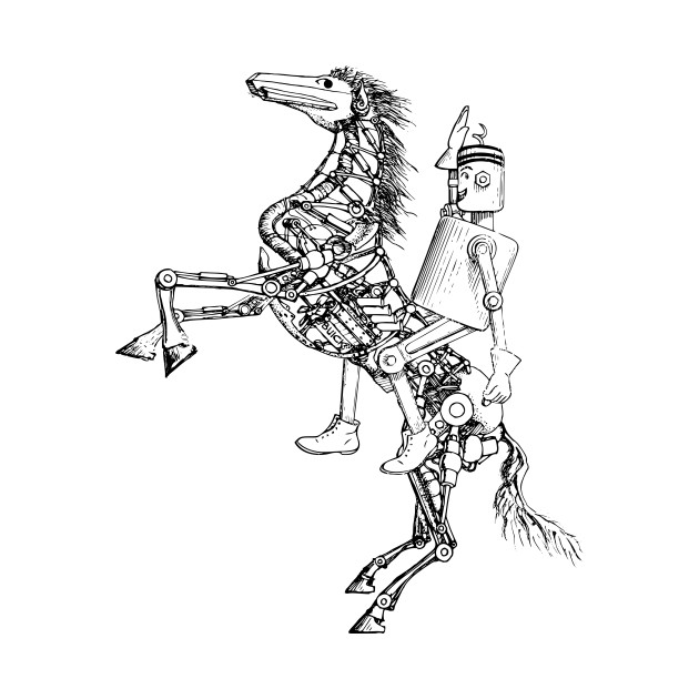 630x630 Mechanical Rearing Horse And Rider.