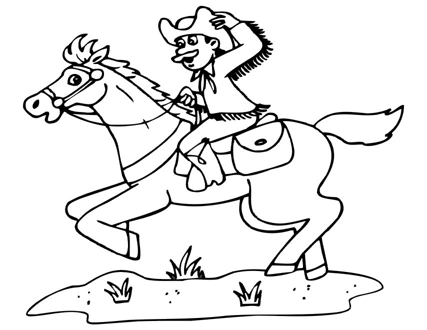 Horse Riding Drawing at GetDrawings.com   Free for personal use ...