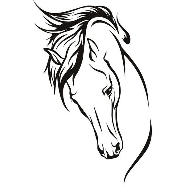 600x600 Horse Silhouette